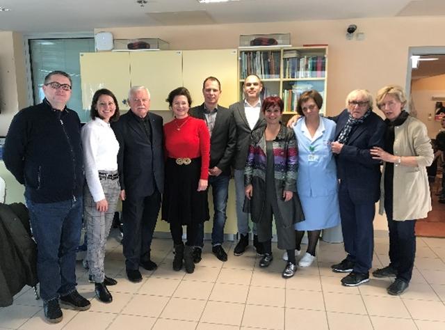 Obdaritev otrok v Pediatrični kliniki v Ljubljani